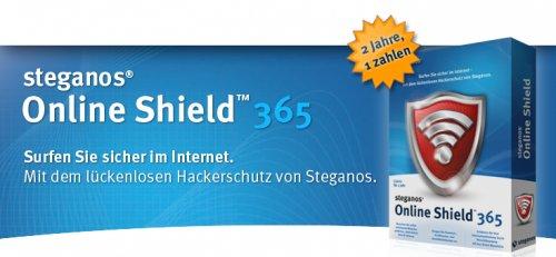 Steganos Online Shield 365 [6 Monate Kostenlos]