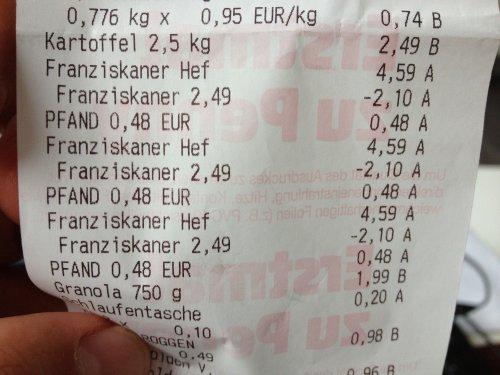 Lokal? Penny Recklinghausen Süd Franziskaner Weissbier Naturtrüb 6x0,5l für 2,49€ + Pfand