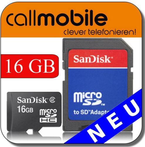 SIM-Karte mit 12 € Guthaben & 16 GB MicroSDHC Karte für 2 €