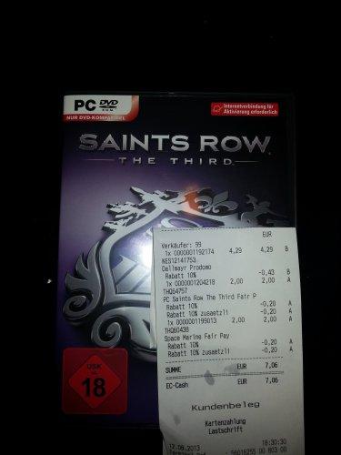 Saints Row: The Third PC (Lokal Promarkt Homburg/Saar)