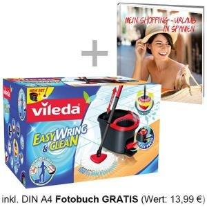 Vileda Easy Wring & Clean + Fotobuch bei eBay