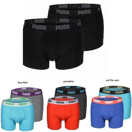4 Puma Boxershorts verschiedene Farben für 19,99€