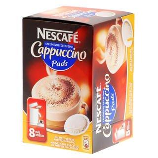 Nescafe Kaffeepads Cappuccino MHD-Ware 30.08.13  bei about-coffee.de
