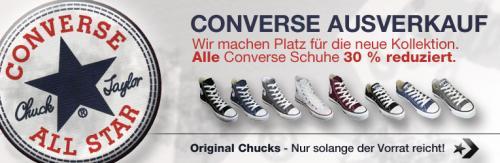 Nochmal günstige Chucks @ my-sportswear.de