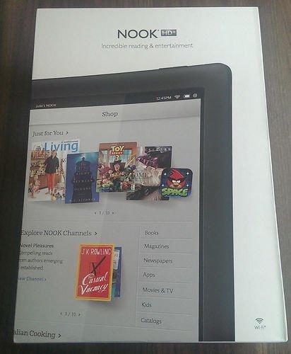 """Nook 9"""" Tablet Aufl.1920 x 1280, 16GB&Android 4.2.2 aus Deutschland f.184,13€/PVG ~250€-dann aber inkl.Kamera&GPS"""