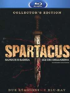 Spartacus - Blu-Ray - Collector's Edition mit Gods of the arena und Blood and sand [@ Amazon.it]