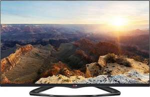 LG 55LA6608 139 cm (55 Zoll) Cinema 3D LED-Backlight-Fernseher, EEK A+ (Full HD, 400Hz MCI, WLAN, DVB-T/C/S, Smart TV) schwarz @Amazon.de