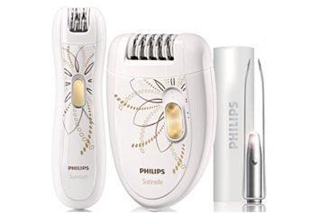 Philips Epiliererset Limited Edition Satin Soft HP6540/00 61% Rabatt bei OTTO