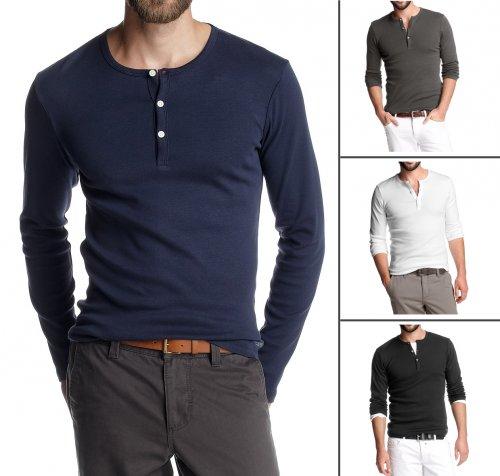 [eBay.co.uk] Esprit (2 Pack) Ribbed Henley T-Shirts für 17,46 € * Angebot * mit kostenlosem Versand