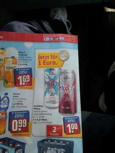Mixery 2 Dosen 1€ Rewe (im Raum Bad Kreuznach) bundesweit