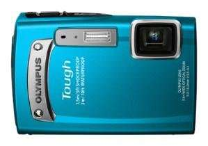 Olympus  Outdoor-Kamera Tough TG-320 blau  für 109€ @ DC