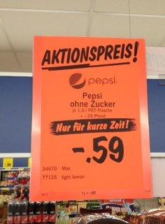 [AKTIONSPREIS] Pepsi 1,5l für 0,59€