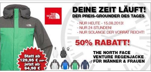 The north face (m/w) - Venture Jacket - Regenjacke für 64,98€