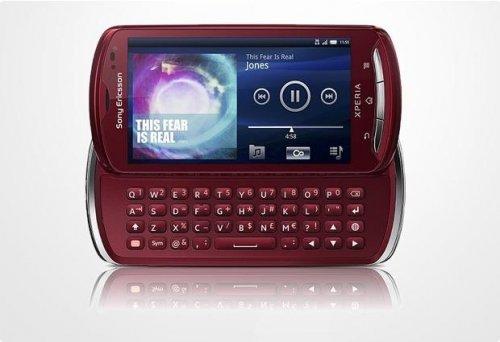 Sony Ericsson Xperia pro (rot) für 105,94 € bei OTTO