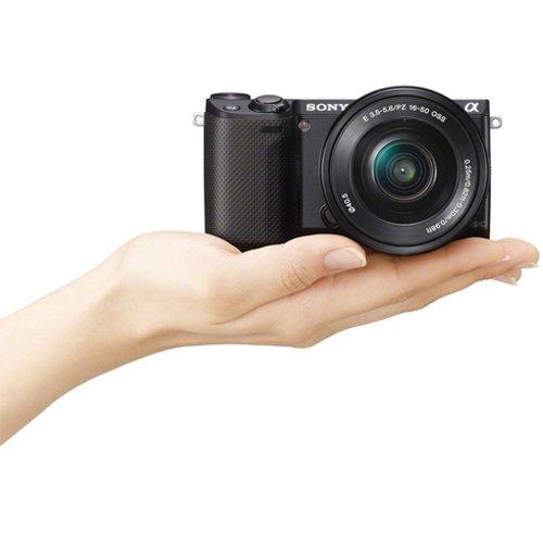 Sony Alpha NEX-5R Kit 16-50 mm schwarz (NEX-5RLB) für rechnerisch(!) 445€ @ amazon.de [durch 50€Amazon-GS]