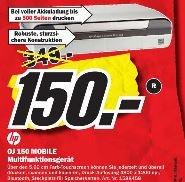 HP OJ 150 Mobile Akku-Drucker 150€ Idealo ab 267€ MM-Porta Westfalica