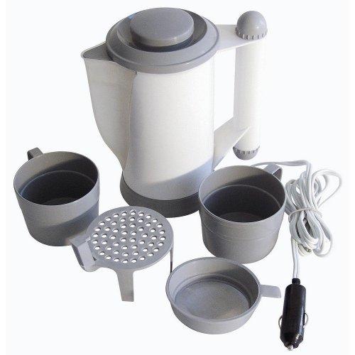 Wasserkocher für den Urlaub und im Auto