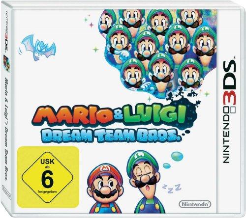 Nintendo 3DS Mario & Luigi: Dream Team Bros. [3DS] für 28,89€ @Digitalo