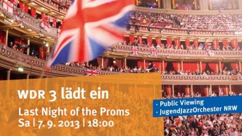 """[Dortmund] Das Jugend Jazz Orchester NRW und Public Viewing der """"Last Night of the Proms"""" aus London"""
