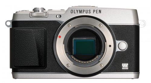 Olympus e-P5 body - Ausstellungsstücke in silber oder schwarz