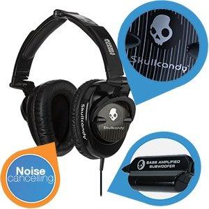 Skullcandy Skullcrusher mit Bass-Modul Kopfhörer für 35,90€ @ IBood