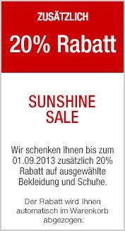 Kaufhof.de 20% Rabatt auf ausgewählte Kleidung/ Schuhe zb. Chucks AllStar  Hi / Low ( mini Größen) für  20€