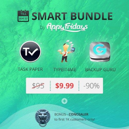 (MAC) Appyfridays Smart Bundle mit bis zu 4 Apps für 7,53€
