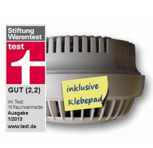 [rauchmelderpflicht.eu] 20% Rabatt auf Detectomat HDv sensys inkl. Klebepad und Sicherungsplombe