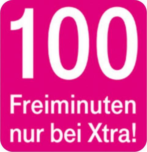 Original T-Mobile XTRA Prepaid SIM Karte mit bis zu 19 EURO Guthaben und 100 Freiminuten