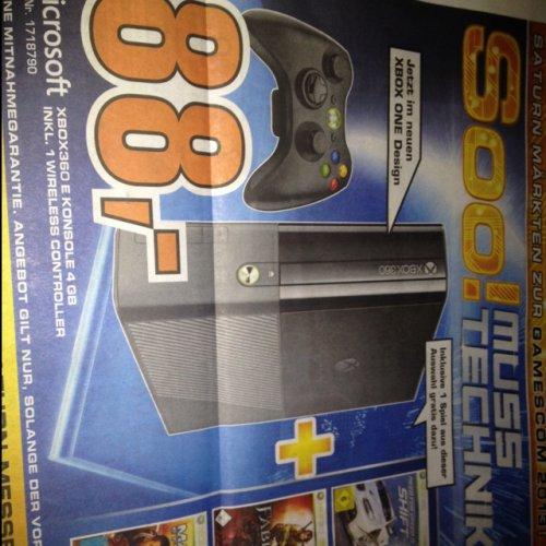 [Köln] Saturn Gamescom Angebote: Xbox 360 4GB + Spiel für 88€ uvm