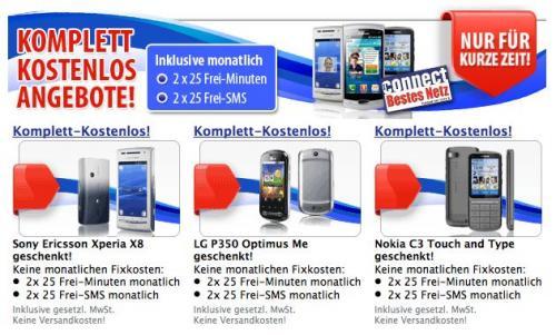 Komplett Gratis! Gratis Smartphone!