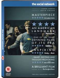 The Social Network (Blu-ray Two-Disc Collector's Edition - ohne dt. Ton) £4.99 @wowhd.co.uk