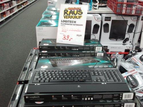 [Lokal][MM Dresden Mickten Elbepark] Logitech Illuminated Keyboard für 39€