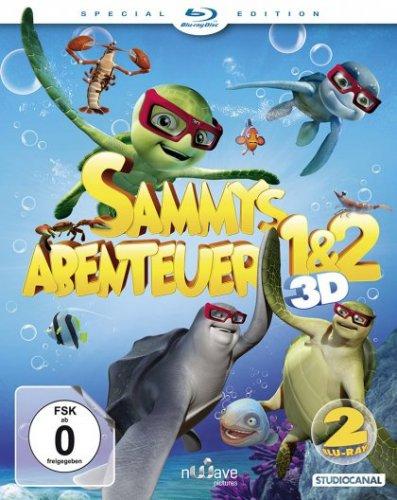 [media-dealer.de] Sammys Abenteuer 1 & 2 3D - Special Edition / Blu-ray 3D (Blu-ray) + weitere Angebote