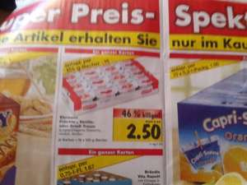 [Kaufland Eiche/Biesdorf] 16x 125g Ehrmann Früchte-, Vanille- oder Grieß-Traum