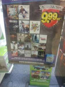 Neue Gamescom Gamestop 9.99er Aktion u.a GTA 5, BF4 ,Fifa 14, Killzone Shadow Fall uvm.