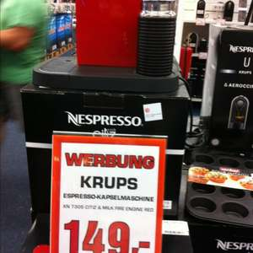 Krups Espresso XN 7305 Citiz milk red LOKAL