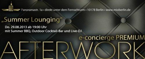 MIO unter dem Fernsehturm[Berlin] Kostenloser Eintritt+Getränk