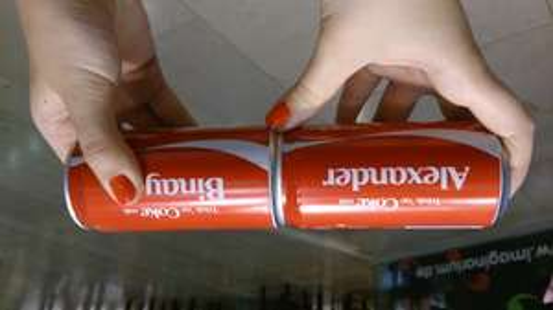 [Lokal München] 2x 0,25 Cola geschenkt mit eigenem Namen + 0,50 Cent Pfand Gewinn