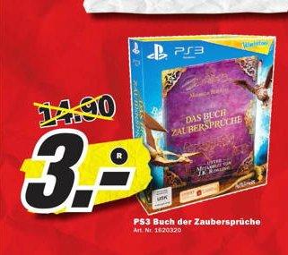 Media Markt Gründau-Lieblos   PS3 Wonderbook Buch der Zaubersprüche  für 3 €