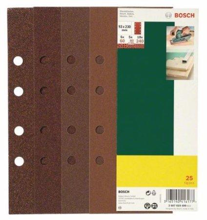 Bosch Qualitäts-Schwingschleifblätter, 25 Stück, 93 x 230 mm für 5EUR inkl. Versand
