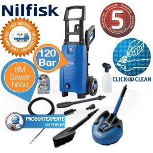 Nilfisk C120.6-6 PAD X-Tra Hochdruckreiniger mit 120 Bar und 5 Jahren Garantie für 119,95 @ Ibood