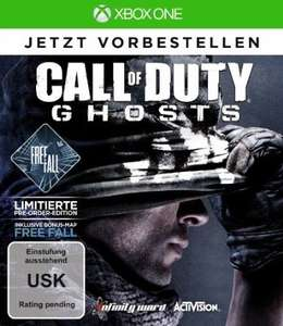 XBOX One - Call Of Duty Ghosts - Free Fall Vorbesteller Edition