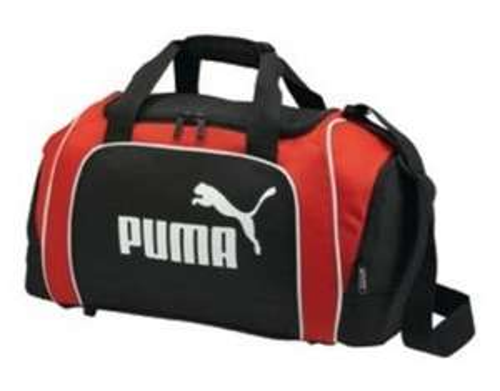 "Puma™ - Sporttasche ""Medium Bag"" (Schwarz/Rot) ab €13,99 [@MeinPaket.de]"