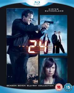 Blu-ray Box - 24: Staffel 7 (6 Discs) für €16,41 [Wowhd.co.uk]