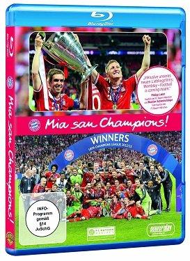 Blu-ray * Mia san Champions (FC Bayern München 2012/2013)
