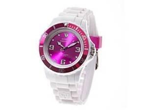 DETOMASO COLORATO Damenuhr in Purple White für 12,92 € @ MeinPaket.de