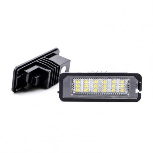 LED Kennzeichenbeleuchtung mit E-Prüfzeichen TÜV für viele Fahrzeuge