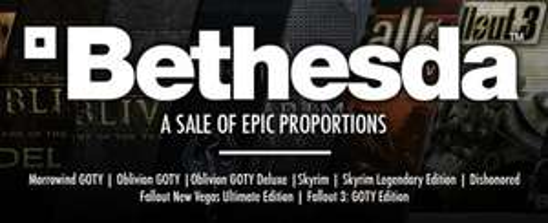 Bethesda Softworks Sale @ Getgamesgo (Fallout 3: GOTY €5.99, The Elder Scrolls V: Skyrim €17.99)