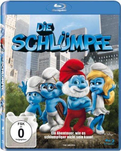 [ Blu-ray ] Die Schlümpfe für 5,99 EUR inkl. Versand @ amazon.de
